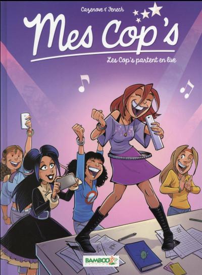 image de Mes cop's tome 5 - Les cop's partent en live