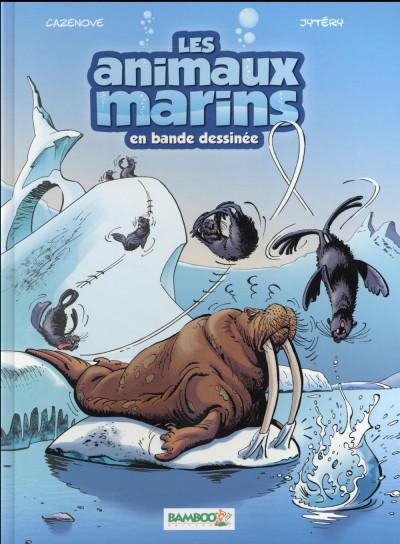 Couverture Les animaux marins en BD tome 4