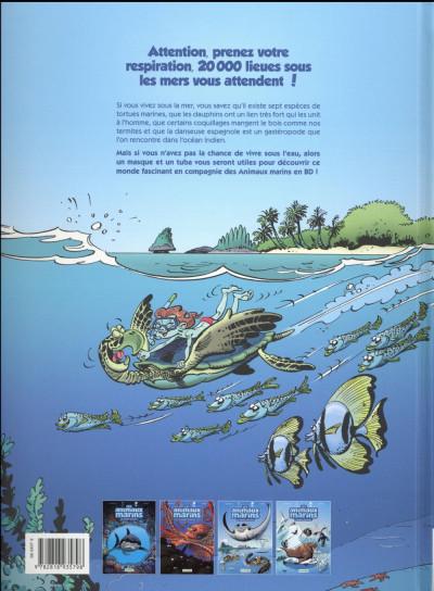 Dos Les animaux marins en BD tome 4