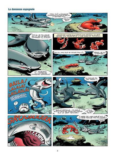 Page 4 Les animaux marins en BD tome 4
