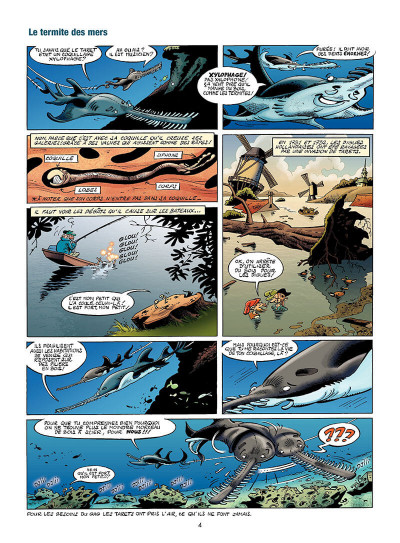 Page 5 Les animaux marins en BD tome 4