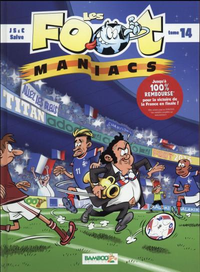 Couverture Les footmaniacs tome 14