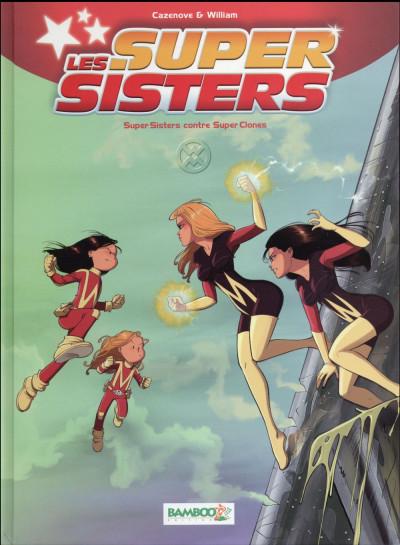 Couverture Les super sisters tome 2