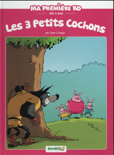 Couverture 3 petits cochons - édition 2016