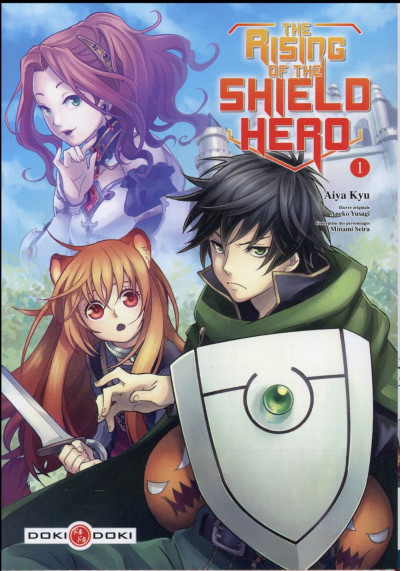 image de The rising of the shield hero tome 1