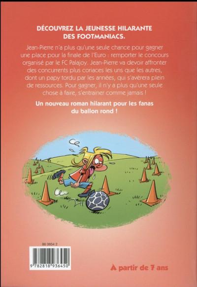 Dos Les petits footmaniacs - roman poche tome 3