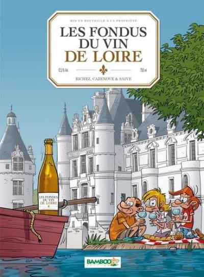 Couverture Les fondus du vin - Loire