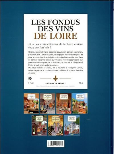Dos Les fondus du vin - Loire