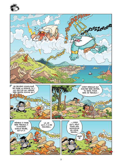 Page 4 Les petits mythos tome 7