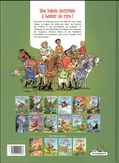 Dos Triple galop tome 12