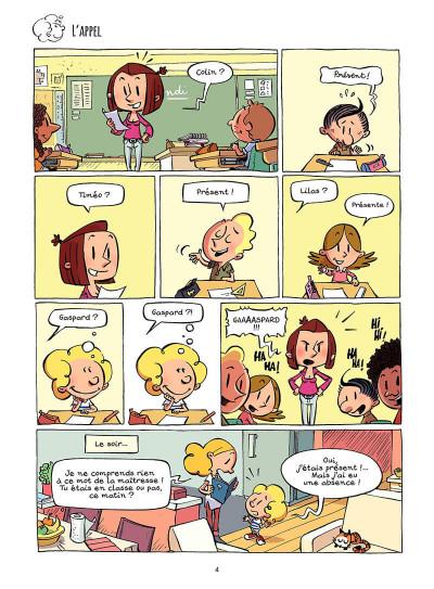 Page 5 Planète Gaspard tome 1