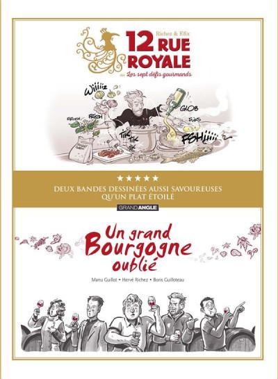 Couverture Écrin - Un grand Bourgogne + 12 rue royale