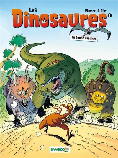 Couverture Les dinosaures en BD tome 1 (nouvelle édition)