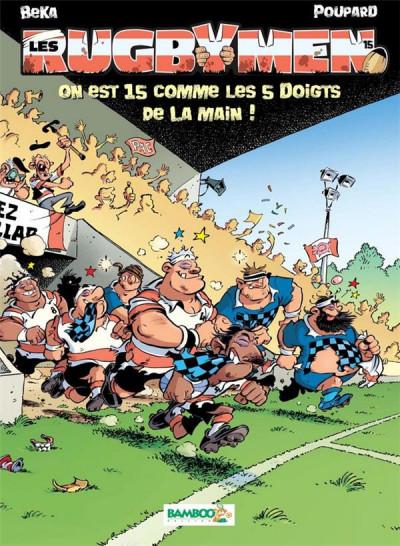 Couverture Les rugbymen tome 15