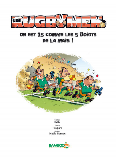 Page 2 Les rugbymen tome 15