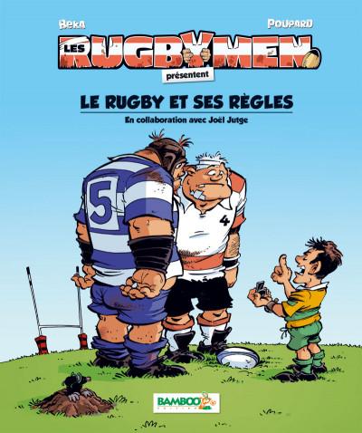 Couverture Les Rugbymen - règles du rugby 2016-2017