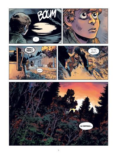 Page 6 Les chiens de Pripyat tome 1