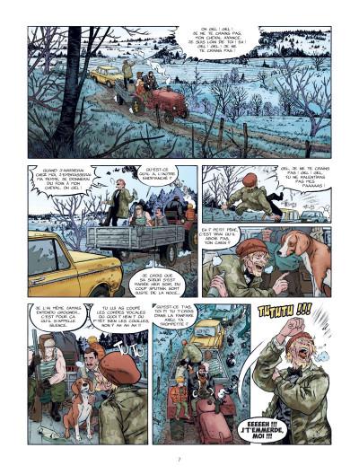 Page 8 Les chiens de Pripyat tome 1