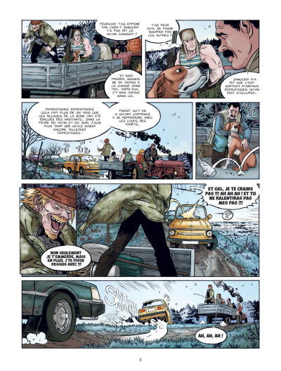 Page 9 Les chiens de Pripyat tome 1
