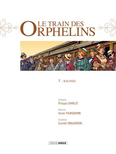 Page 2 Le train des orphelins tome 7