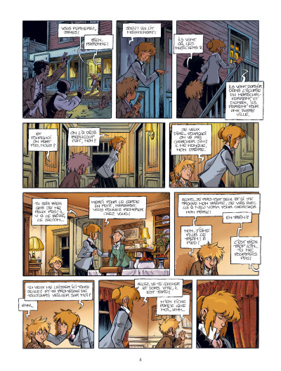 Page 9 Le train des orphelins tome 7