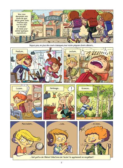 Page 1 L'atelier détectives tome 1