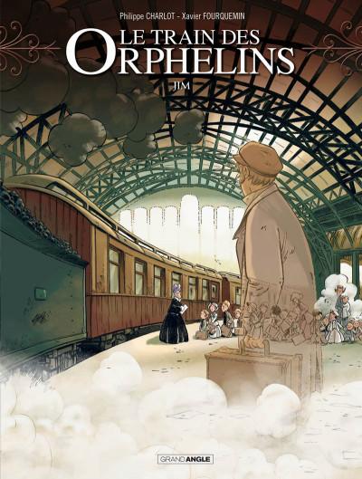 Couverture Le train des orphelins tome 1 - Prix découverte