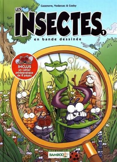 Couverture Les insectes en BD tome 1 (nouvelle édition)