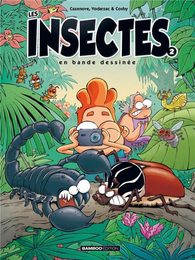 Couverture Les insectes en BD tome 2 (nouvelle édition)