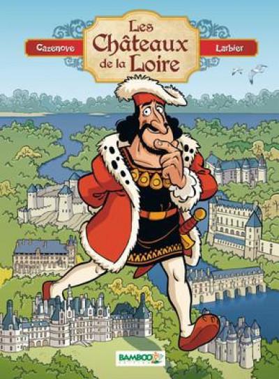 Couverture Les châteaux de la Loire