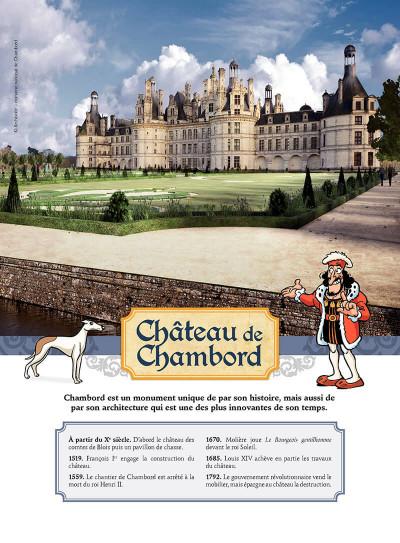 Page 4 Les châteaux de la Loire