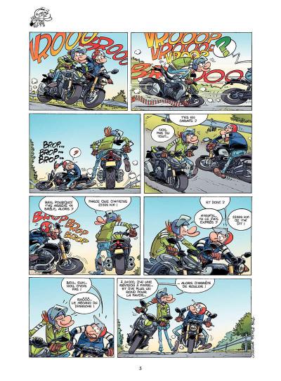 Page 6 Les fondus de moto tome 9