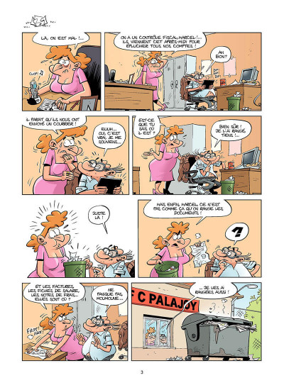 Page 4 Les foot maniacs tome 15