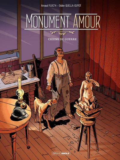 Couverture Monument amour tome 1