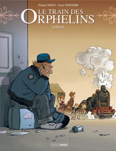 Couverture Le train des orphelins tome 8