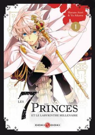 Couverture Les 7 princes et le labyrinthe millénaire tome 1