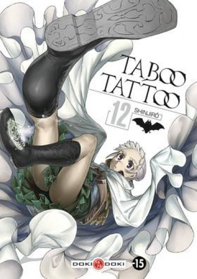 Couverture Taboo tattoo tome 12