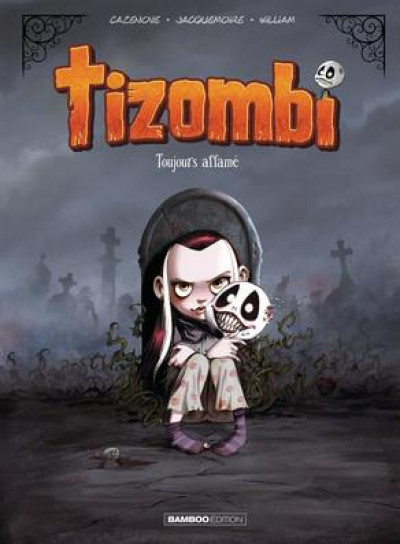 Couverture Tizombi tome 1