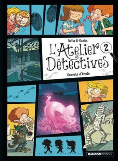 Couverture L'atelier détectives tome 2