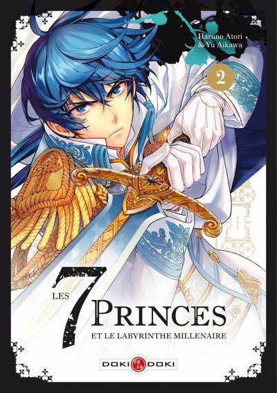 Couverture Les 7 princes et le labyrinthe millénaire tome 2