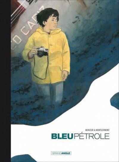 Couverture Bleu pétrole - édition toilée