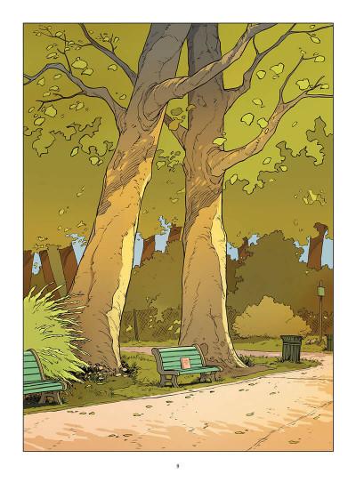 Page 0 Un petit livre oublié sur un banc - intégrale