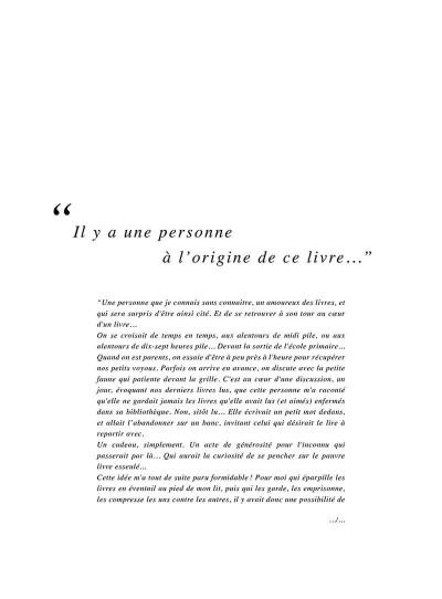 Page 6 Un petit livre oublié sur un banc - intégrale
