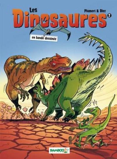 Couverture Les dinosaures en BD tome 2 (nouvelle édition)