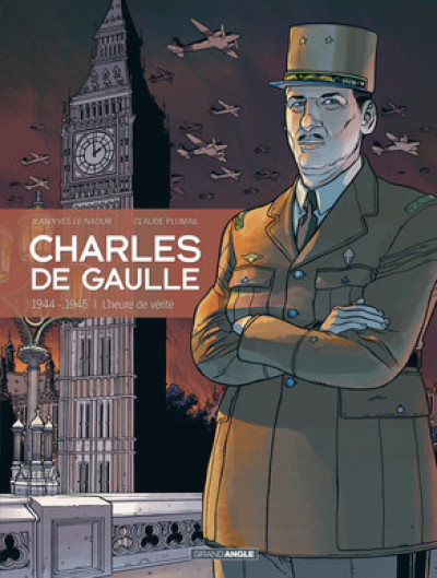 Couverture Charles de Gaulle tome 3