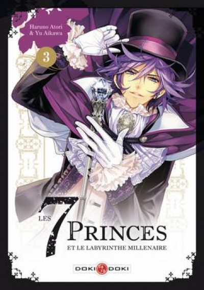 Couverture Les 7 princes et le labyrinthe millénaire tome 3