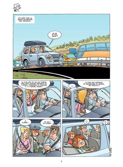 Page 4 Seule à la récré tome 1