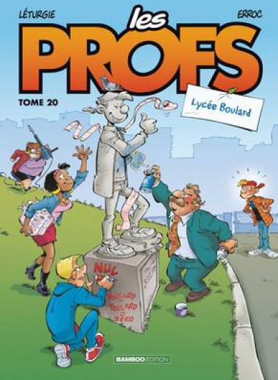 Couverture Les profs tome 20