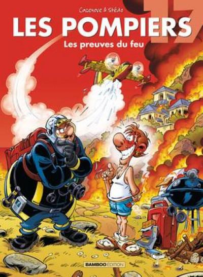 Couverture Les pompiers tome 17