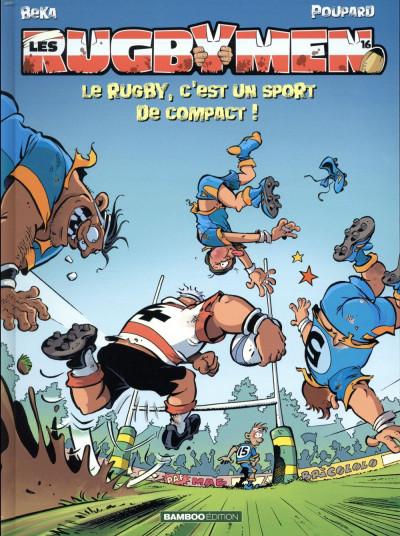 Couverture Les rugbymen tome 16
